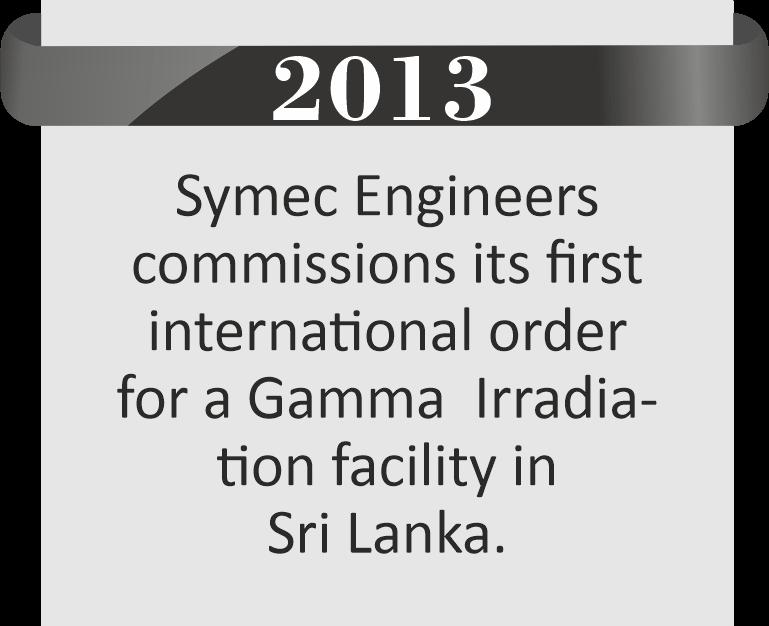 Gamma Irradiation Facility in Sri Lanka By Symec Engineers Pvt. Ltd.