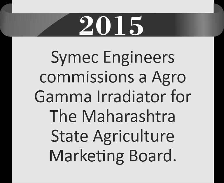 Agro Gamma Irradiator for Maharashtra State Agricultural Marketing Board (MSAMB)